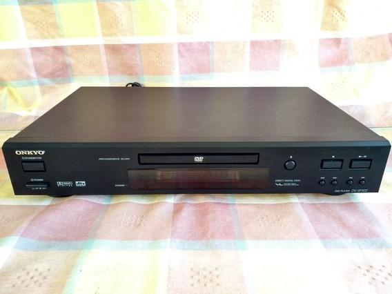 Dvd /cd Onkyo Dv-sp302- Usado - Leiam O Anuncio - Liquida