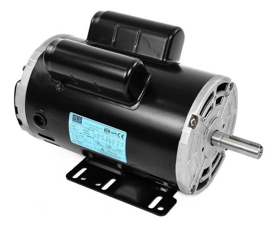Motor Eléctrico Monofásico 1.5 Hp Weg 14347788 1745 Rpm