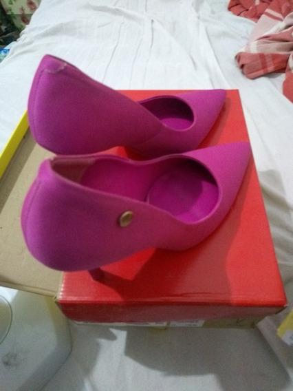 Scarpin Vizzano Pink + Sapatilha Via Ouro