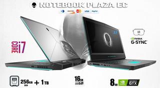 Alienware 17 R5 4.1hz 16gb Nvidia 1070gtx 8gb 256gb Ssd 1tb