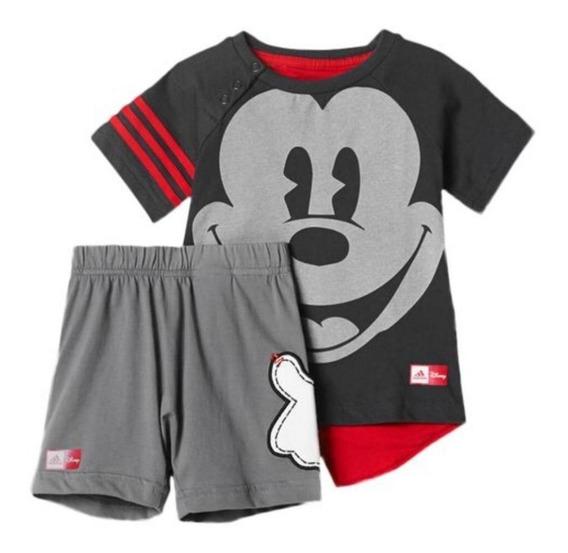 Conjunto adidas Disney Mickey Mouse Summer Infantil