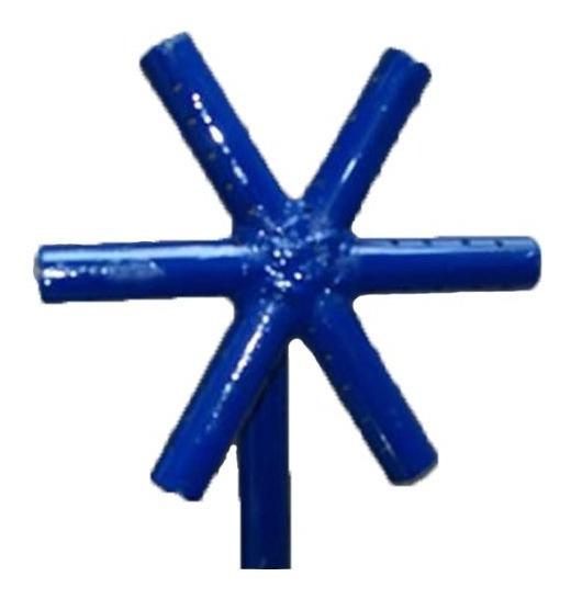 Quemador Gas Industrial Tipo Estrella 36 X 20 Cm Mex-par