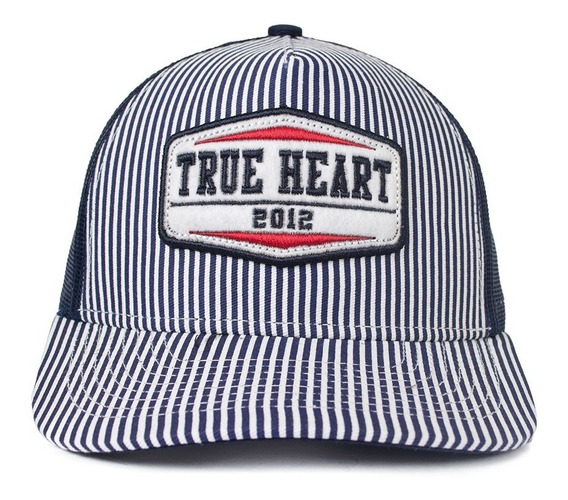 Boné Snapback True Heart Trucker Marinho Original