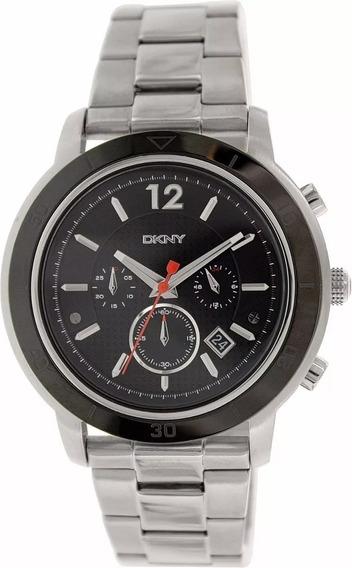 Reloj Dkny Tompkins Hombre Ny2164 Chronograph Acero Plateado