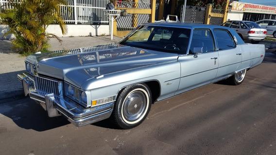 Cadillac Fleetwood 1973 , Placa Preta, Colecionador, Novo.