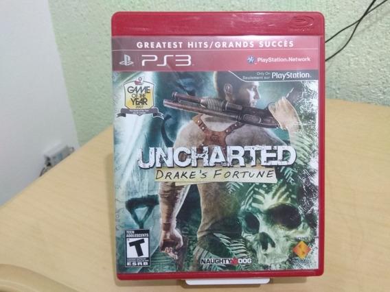 Jogo Playstation 3 Ps3 Uncharted 1 Usado Drake