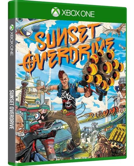 Jogo Sunset Overdrive Xbox One Mídia Física Opção Frete 12