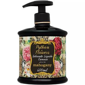 Sabonete Liquido Python E Flowers Mahogany