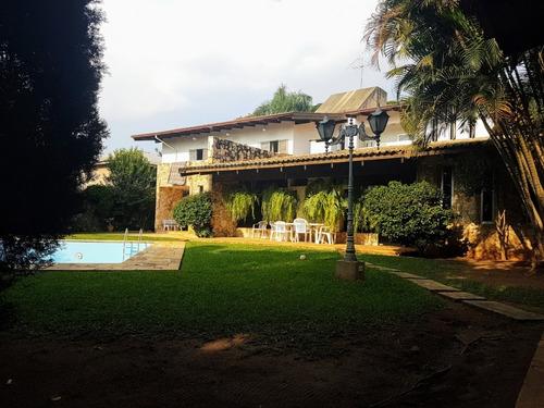 Imagem 1 de 19 de Casa-são Paulo-chácara Flora   Ref.: Reo20976 - Reo20976