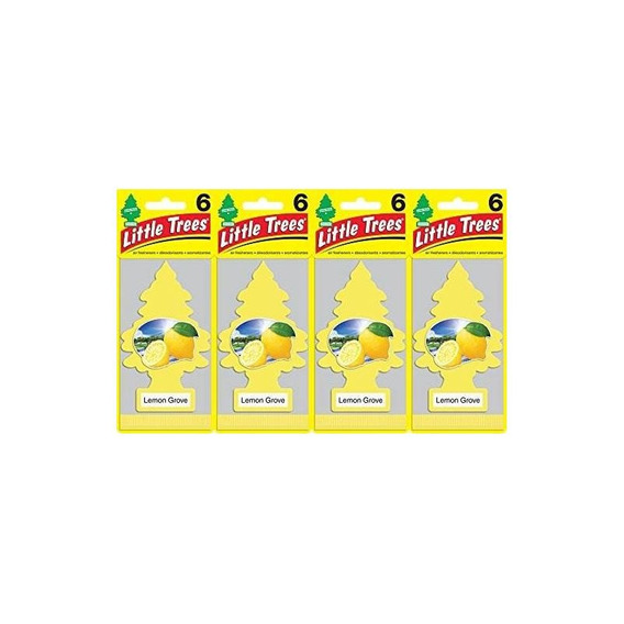 Ambientador De Jardín Little Trees Lemon Grove, (paquete De
