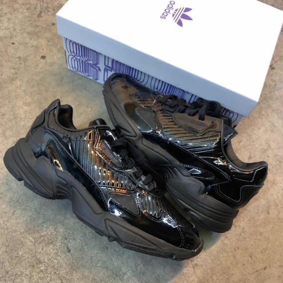 adidas Falcon Black Vinil (w)