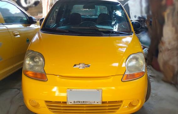 Taxi Chevrolet Spark 2008 Placas De Barranquilla