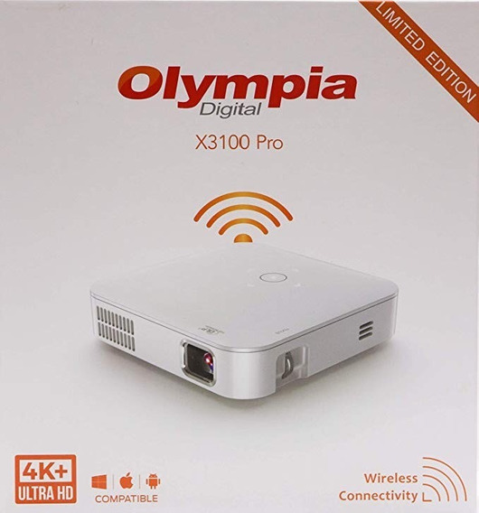 Projetor Portátil Olympia X3100 Pro Digital