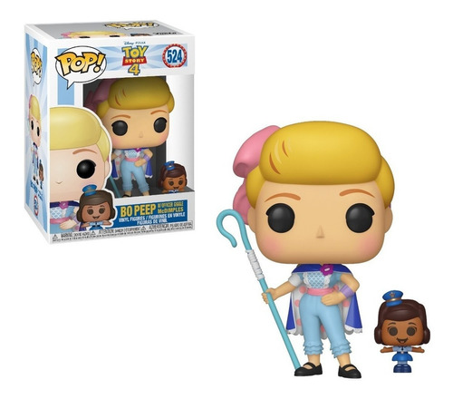 Funko Pop Bo Peep Y Officer Giggle Mc Dimples Toy Story 4-mj