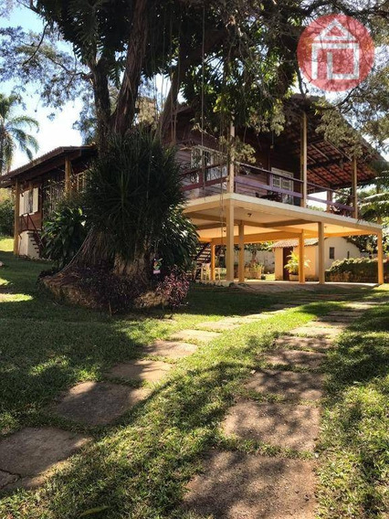 Chácara Com 3 Dormitórios À Venda, 1800 M² Por R$ 500.000 - Curitibanos - Bragança Paulista/sp - Ch0187