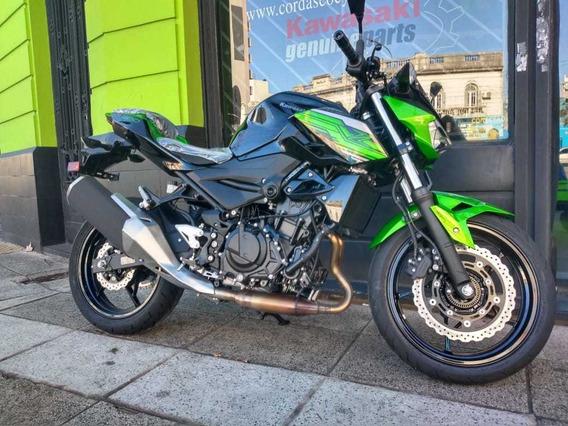 Kawasaki Z400 Abs Okm Negra 2020 Entrega Inmediata Cordasco