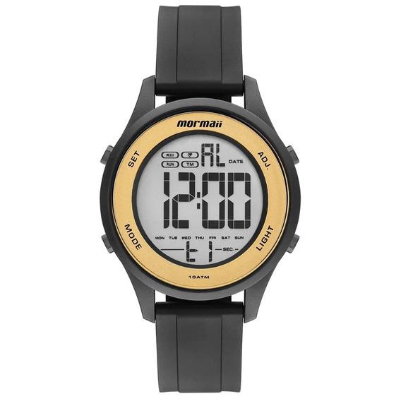 Relógio Mormaii Mo6200/8d Mo6200 8d Preto Pulso