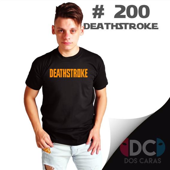 Deathstroke Dc Comics Mercenario Remera Comics #200