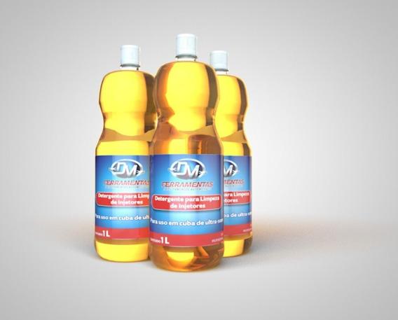 Kit Detergente Para Limpeza Por Ultrassom 6 Litros-faz 60 L