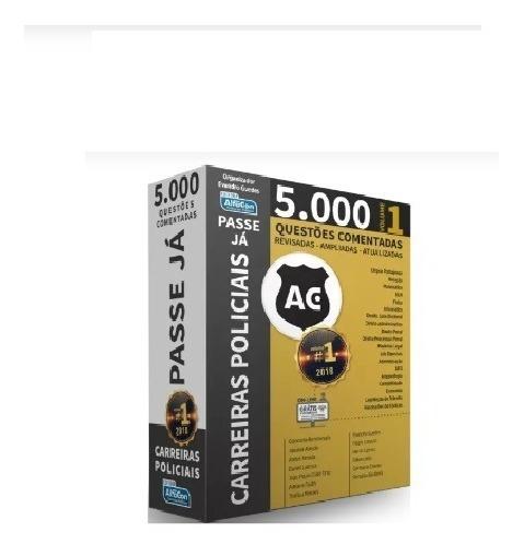 Livro Passe Já - 5.000 Questões - Carreiras Policiais Vol 1