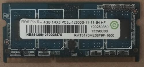 Memoria Ram 4gb Ddr3 Para Laptop