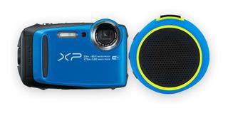 Camara Fujifilm Xp120 + Bocina Factura Azul Envio Gratis