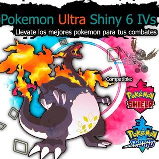 Pokemon Shiny Sword Shield Espada Escudo 6ivs Competitivos