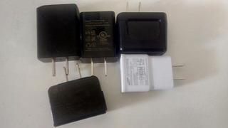 Pack Cargadores LG Samsung Blu Sony Motorol Usados Sin Cable