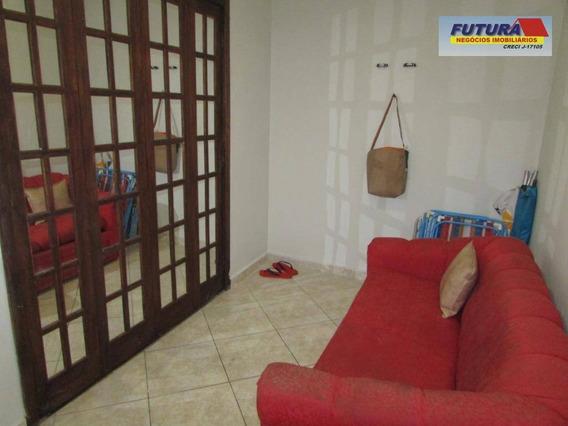Studio Com 1 Dormitório À Venda, 38 M² Por R$ 155.000,00 - Centro - São Vicente/sp - St0303