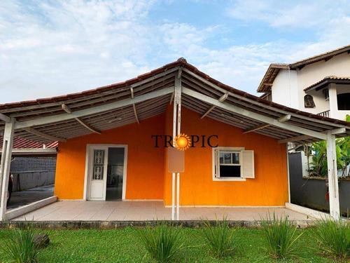Casa Com 3 Dormitórios À Venda, 182 M² Por R$ 700.000,00 - Morada Da Praia - Bertioga/sp - Ca0362