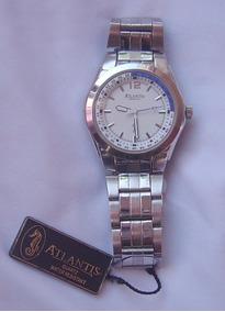 Relógio Atlantis Masculino Seminovo - Códico 876