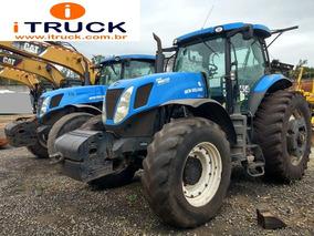 Trator Agrícola 4x4 New Holland T7240 Ano 2013 Muito Novo.