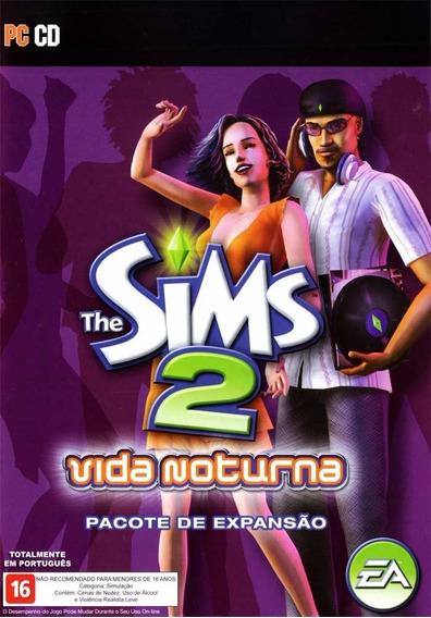 Somente Manual Original Em Portugues The Sims 2 Vida Noturna