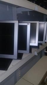 Monitor Lcd Tela 17 Pol Quadrada Diversas Marcas, Perfeitos!