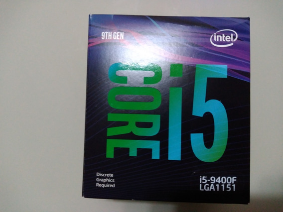 Processador Intel - I5-9400f