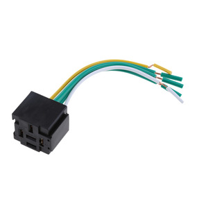 12v 40-80 Amp Relay Socket Holder With Wire Harness 5pin Wir