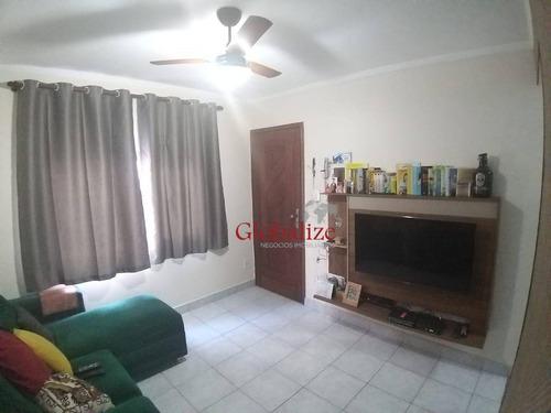 Imagem 1 de 19 de Apartamento Com 2 Dormitórios À Venda, 50 M² Por R$ 235.000,00 - Aparecida - Santos/sp - Ap1006