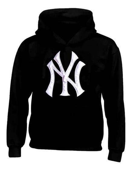 Sudadera Hoodie New York Yankees Adulto Caballero Ny + Envio