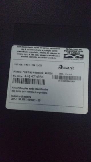 Notebook Positivo Premium Xr7550
