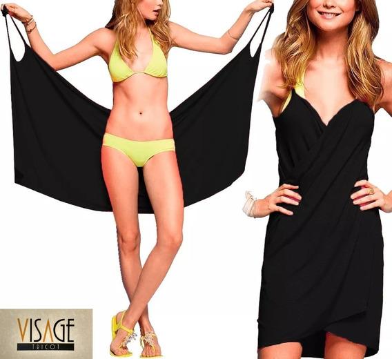 Vestido Saída De Praia Plus Size Moda Feminina, Roupas