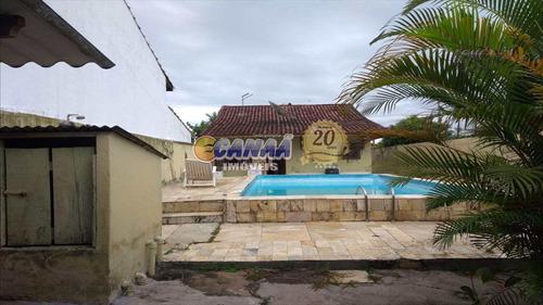 Casa Com 2 Dorms, Balneário Flórida Mirim, Mongaguá - R$ 390 Mil, Cod: 4098 - V4098