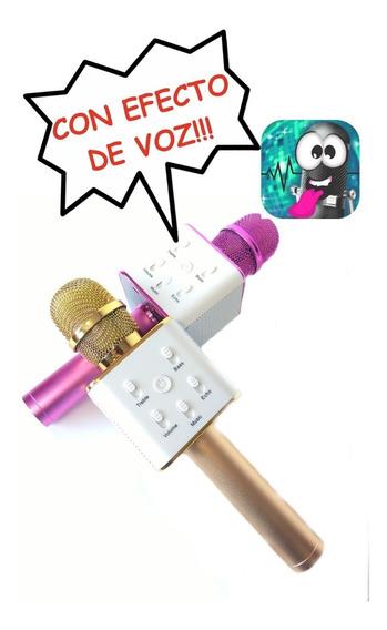Microfono Bluetooth Inalambrico Parlante Dia Del Niño X2