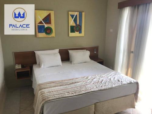 Imagem 1 de 15 de Flat Com 1 Dormitório À Venda, 64 M² Por R$ 180.000,00 - Alto - Piracicaba/sp - Fl0003