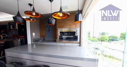 Apartamento Com 2 Dormitórios À Venda, 94 M² Por R$ 785.000 - Vila Augusta - Guarulhos/sp - Ap3871