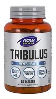 Tribulus Now 1000mg 90 Tablets Maior Concentração Now Foods