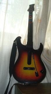 Regalo Combo Guitar Hero Ps3 (70 Americanos)