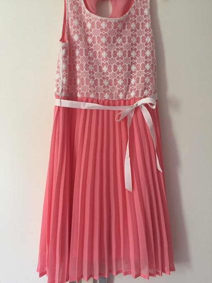 Vestido Elegante Importado Para Niña Talla 10
