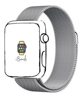 Pulseira Ibands Aço Magnético Milanese Loop Apple Watch