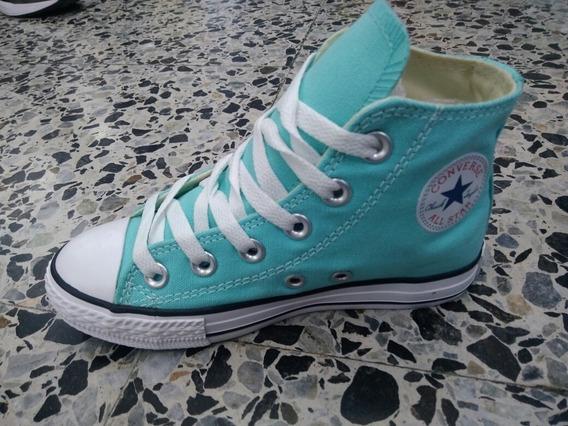 Converse All Star En Bota Para Niños Originales