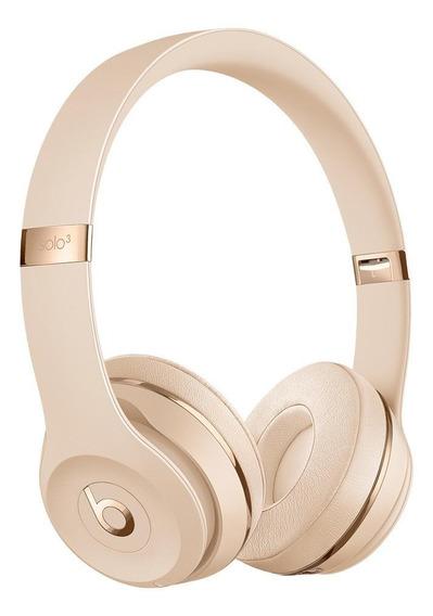 Audífonos inalámbricos Beats Solo³ Wireless satin gold
